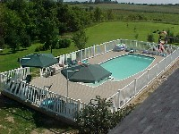 Olympus Fiberglass Pool and Spa in Columbia, MO